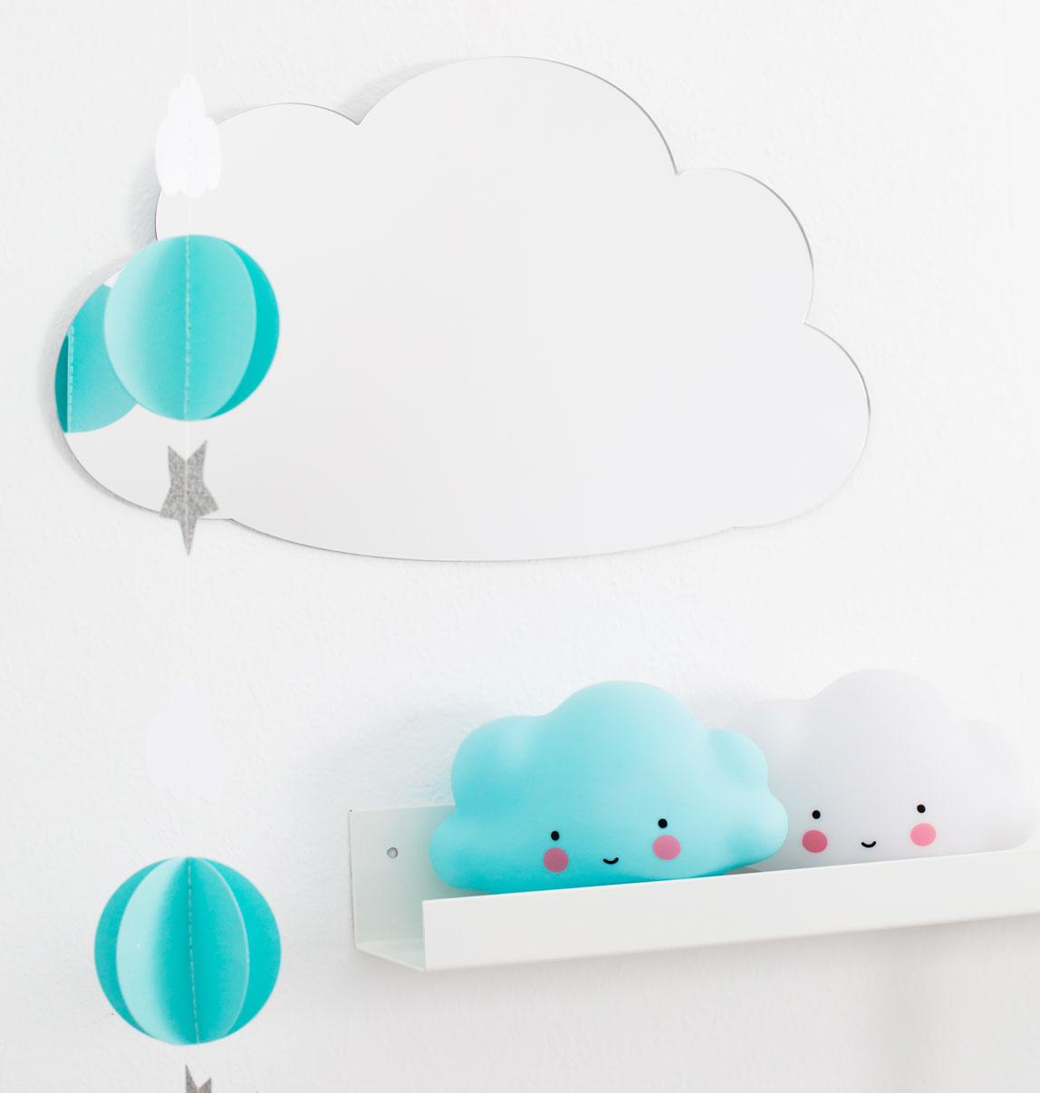 Éjjeli fény - Mini felhő - kék