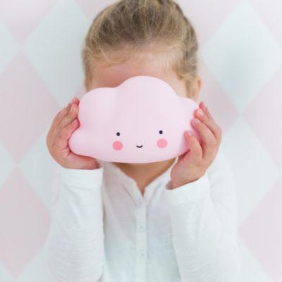 Éjjeli fény - Mini felhő - rózsaszín