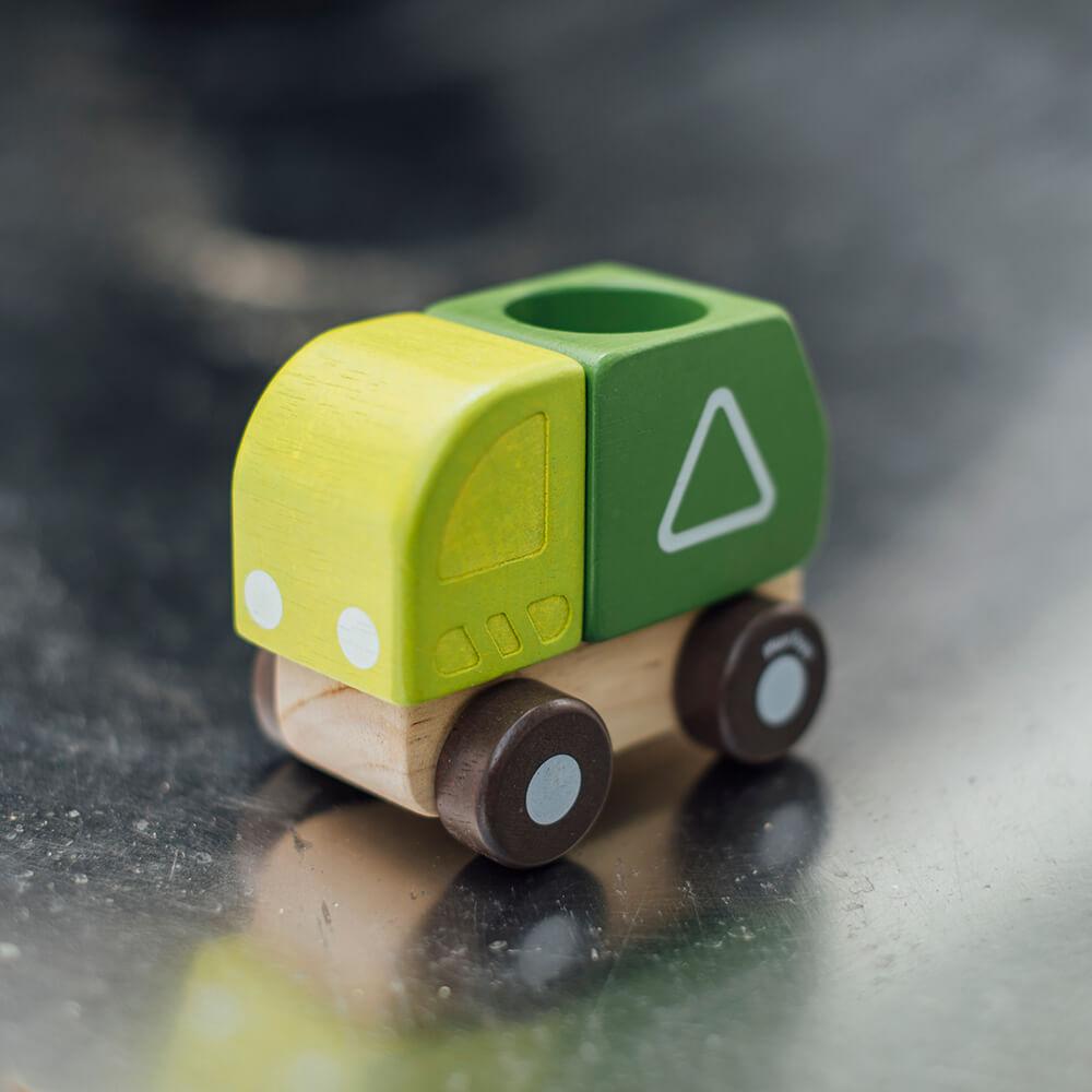 Mini szemetes autó