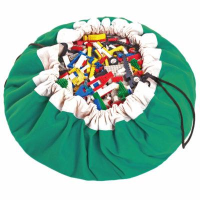 Játéktároló zsák - klasszik zöld