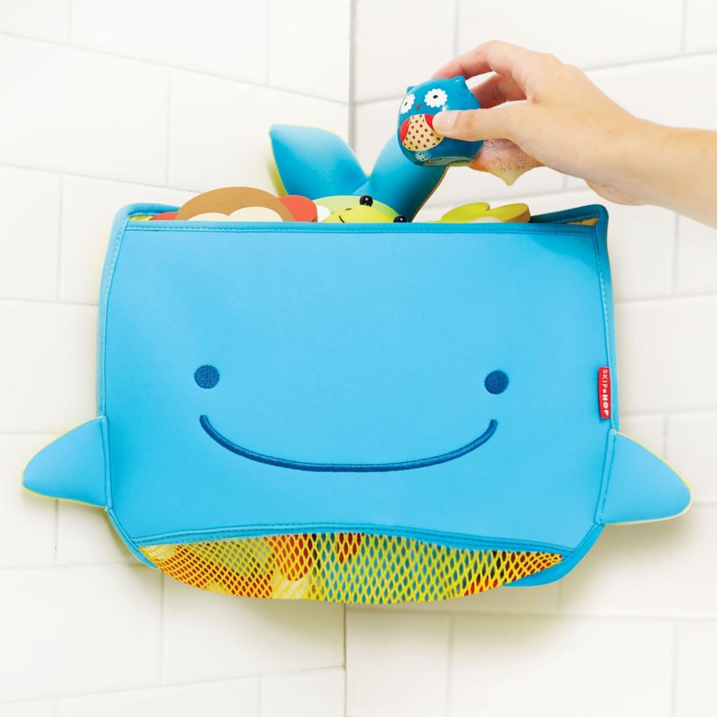 Fürdőjáték sarok tároló - bálna