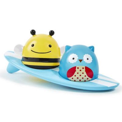 Fürdőjáték - szörfözős állatok