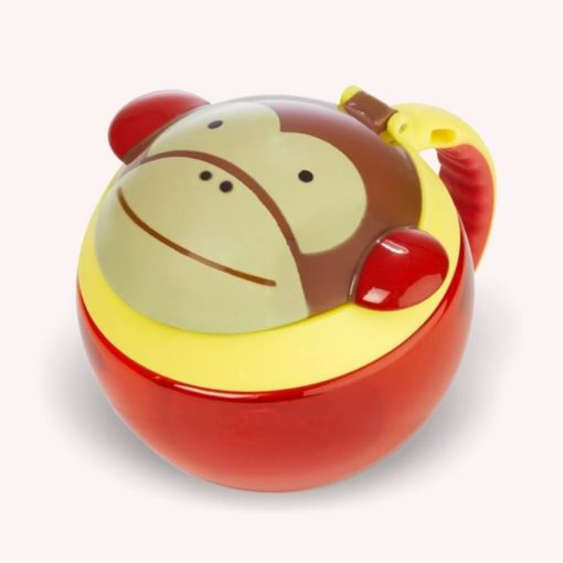 Snack tartó - majom