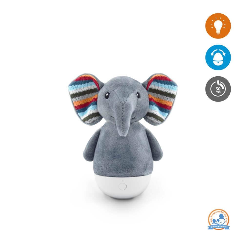 Keljfeljancsi és éjszakai fény - Elli elefánt