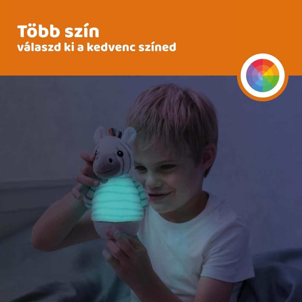 Keljfeljancsi és éjszakai fény - Zack zebra