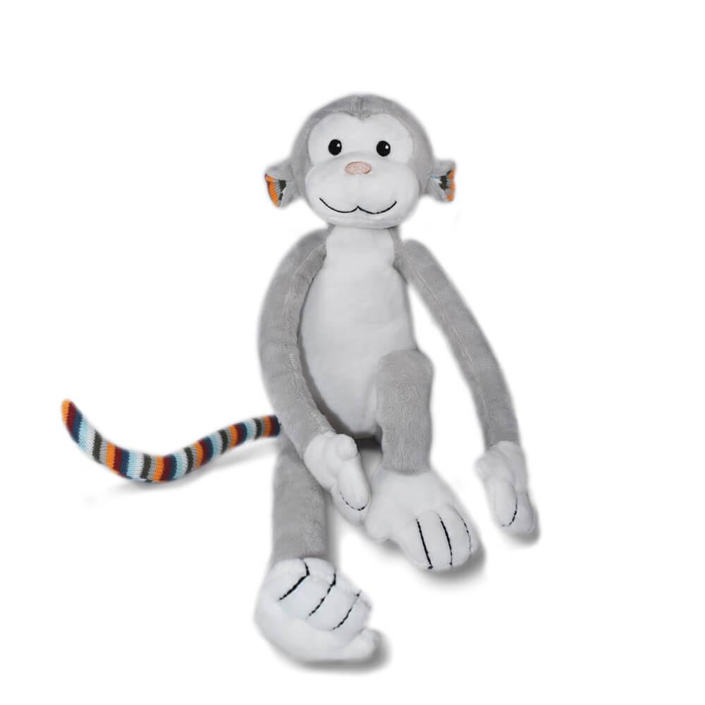 Zenélő plüss és éjjeli fény - Max - majom