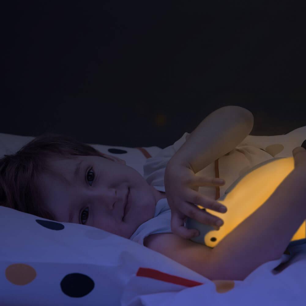 Alvás edző és éjjeli fény - Pam - kék
