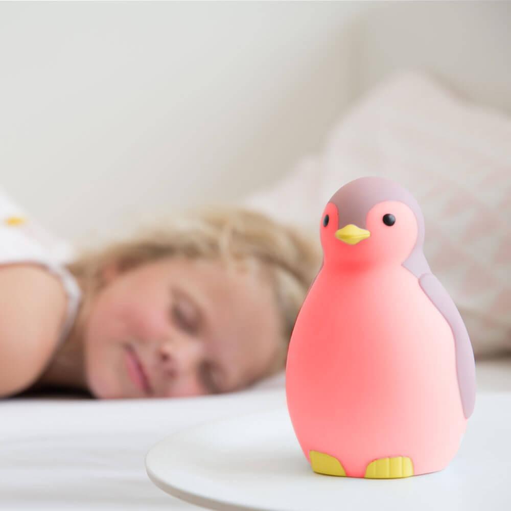 Alvás edző és éjjeli fény - Pam - rózsaszín