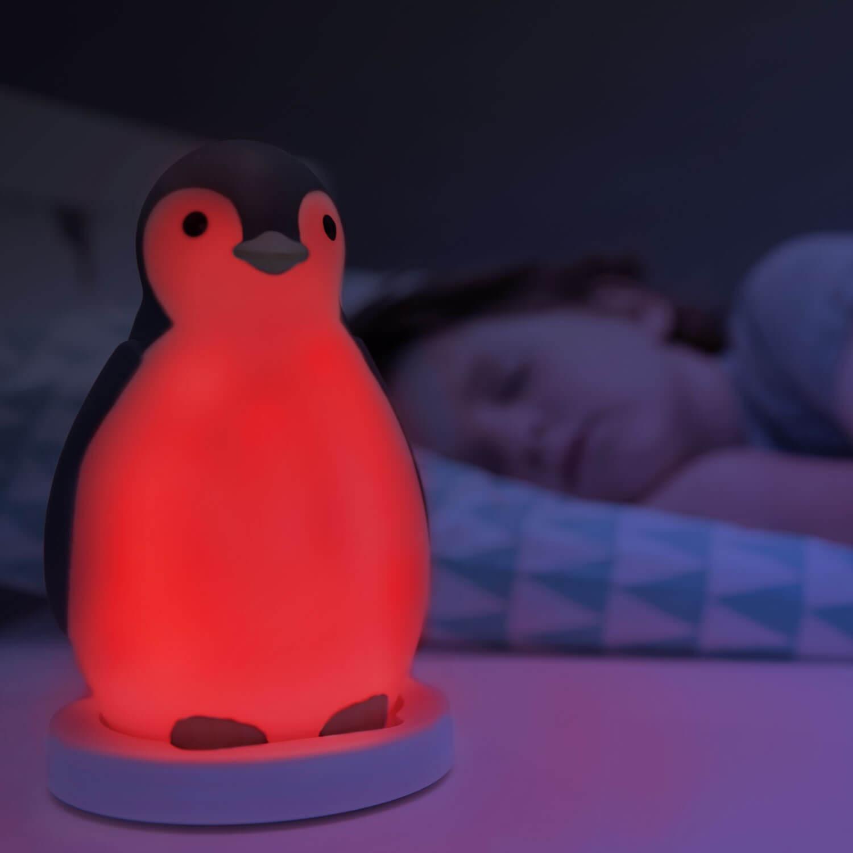 Alvás edző és éjjeli fény - Pam - szürke