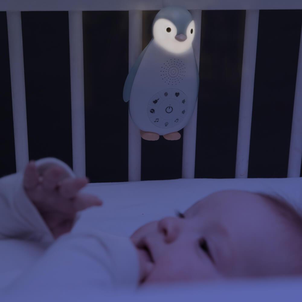 Music Box és éjjeli fény - Zoe - kék