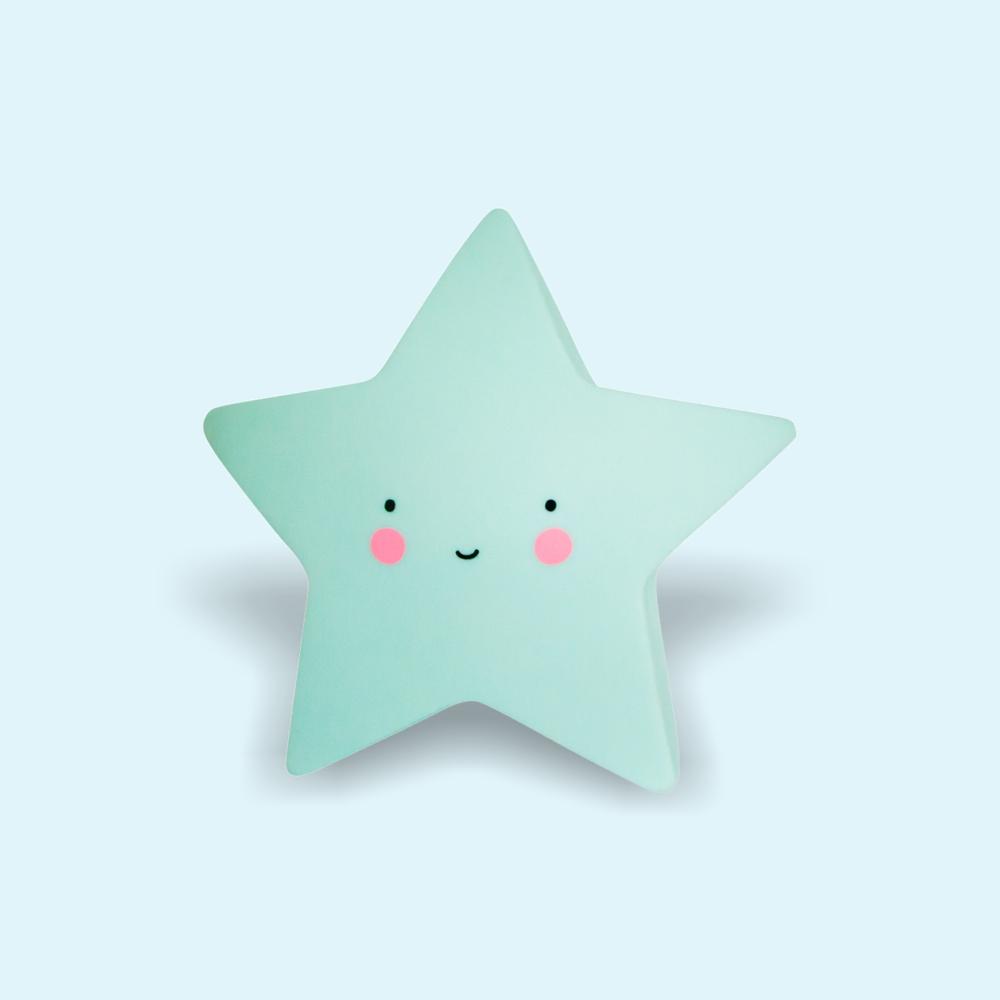 Éjjeli fény - Csillag - kék