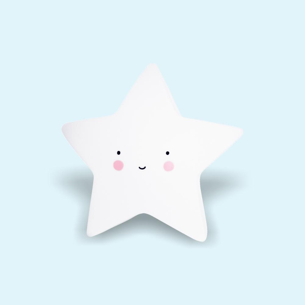 Éjjeli fény - Csillag - fehér