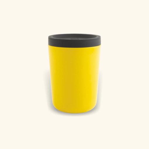 EKOBO hordozható bambusz kávés pohár - citromm