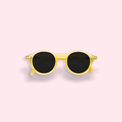 IZIPIZI Gyerek napszemüveg -D- Citromsárga