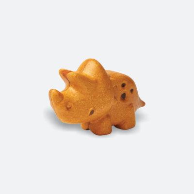 PlanToys Dinó - Triceratops kis állatfigura
