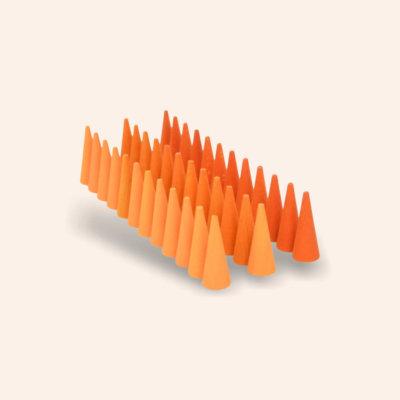GRAPAT Mandala - Narancs kúp